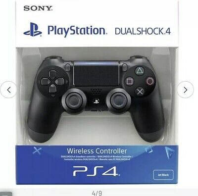 Official Sony PS4 V2 DualShock 4 Controller **Brand New Sealed** - BLACK