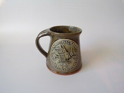 Indian Workers Association IWA National Rally Coventry 1987 Earthenware Mug