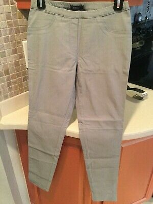 Pure Amici Gray Stretch Pants Pull On women's Sz XS NWOT