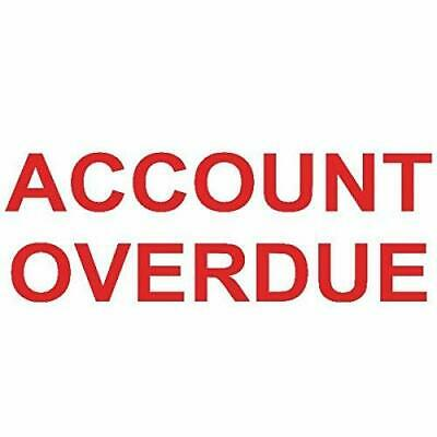 Colop Prntr 20 Account Overdue Red NEW