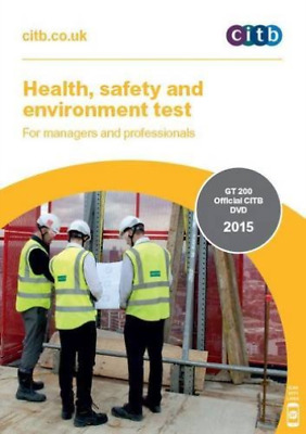 CITB-Health, Safety And Environment Test For Managers And Professionals DVD NEW