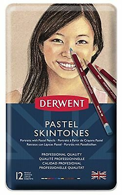 Derwent 2300563 Skintones Pastel Pencils, Colouring Pencils for Portrait Draw...