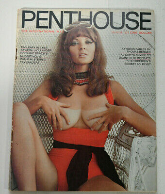 Penthouse Magazine Collector's Assortment 1970's 1980's Good Condition