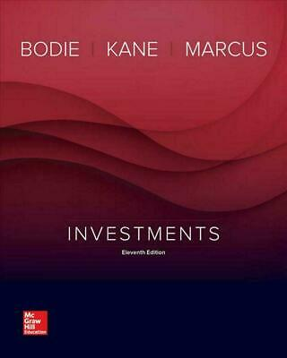 Investment 11th Edition by Bodie Kane Marcus 1  Minute Delivery[E-B OOK]