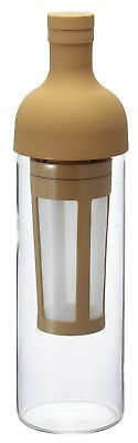 Hario Cold Brew Filter In Coffee Bottle, Mocca