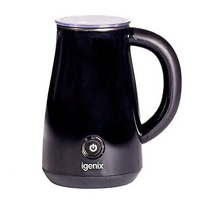 Igenix IG8651 Milk Frother for Coffees, Latte and Cappuccino, Electric Milk S...