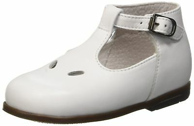Little Mary Boys' Max Baby First Steps White (Vachette Blanche) 6 UK