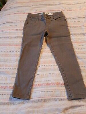 Primark Girl's Grey Skinny Jeans Age 3-4 Years Never Worn