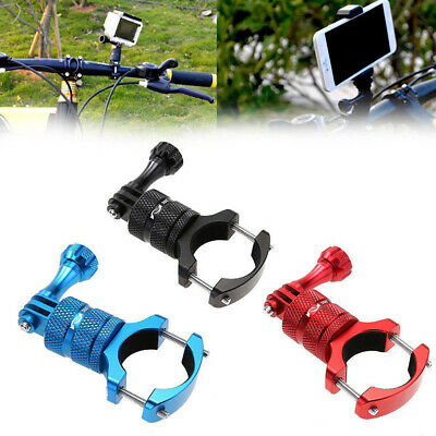 Bicycle Motorcycle Handlebar Mount Holder Clamp Aluminium Alloy for GOPRO Camera