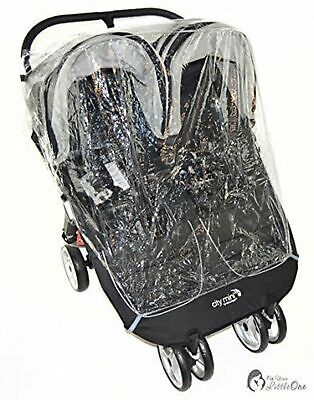 Raincover Compatible with Britax B-Agile Twin Double Pushchair (213)