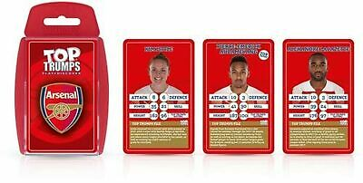 Arsenal FC 2018/19 Top Trumps Card Game