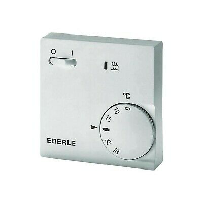 EBERLE 111110451100 Eberle RTR - E 6202 Room Temperature Controller with On-o...