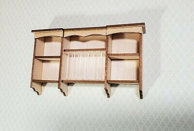 Counter top stove kitchen miniature metal furniture 13432 1//12 scale Houseworks