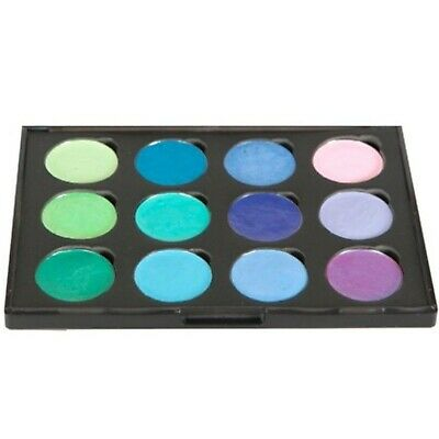 Cosmic Shimmer Iridescent Watercolour Palette Set 5-Greens & Purples, Greens ...