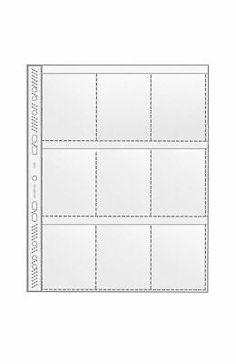10 x Veloflex A4 Collection Sleeves Prospect Covers Card 140 My 4x A6 10x15 CM