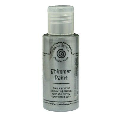 Cosmic Shimmer Shimmer Paint-Tarnished Silver, 50ml