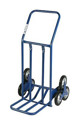 Archimedes HT Trolley, Large Volumes for Stairs, Metal, Blue, 60x 80x 118cm