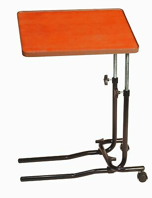Drive Angle and Height Adjustment Over Bed Table with 2 Castors