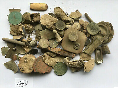 Ancient/GROUP OF INTERESTING  METAL DETECTOR FINDS FROM Norfolk Field No (1)