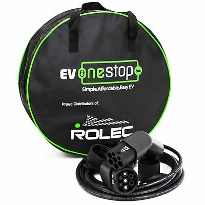 EV / Electric Vehicle Charging Cable | Type 2 to Type 2 | 32 Amp(7.2kW) | 10 ...