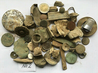 Ancient/GROUP OF INTERESTING  METAL DETECTOR FINDS FROM Norfolk Field No (2)