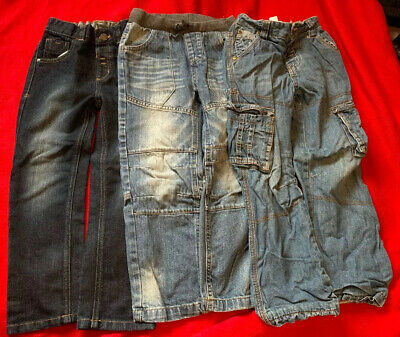 3 Pairs Of George Jeans Age 5-6