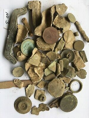 Ancient/GROUP OF INTERESTING  METAL DETECTOR FINDS FROM Norfolk Field No (3)