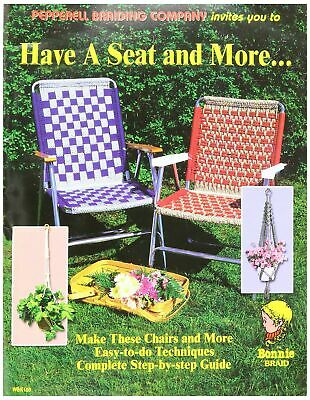 Pepperell Braiding Co, Have A Seat