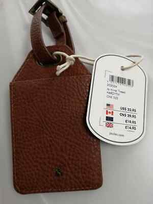 New Joules Womens Its Mine! Tweed Luggage Tag HARDY TWEED