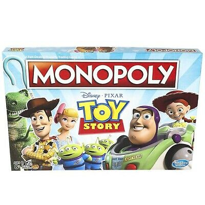 Monopoly Stranger Things Toy Story Board Game Family and Children Aged 8+