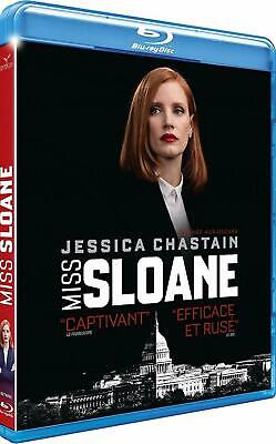 [Blu-ray]  Miss Sloane  [ Jessica Chastain, Mark Strong ]  NEUF cellophané