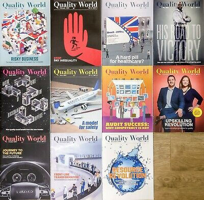 Quality World - The magazine of the Charted Quality Institute - all 2018 issues