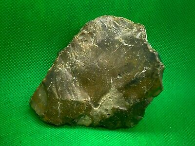 Palaeolithic/ Mesolithic Rock Art Flint Hand Axe With Imagery