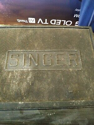 Singer Sewing Machine Rubber Footplate Mat
