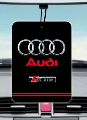 Audi S Line CAR AIR FRESHENER (Buy 3, Get 1 Free)