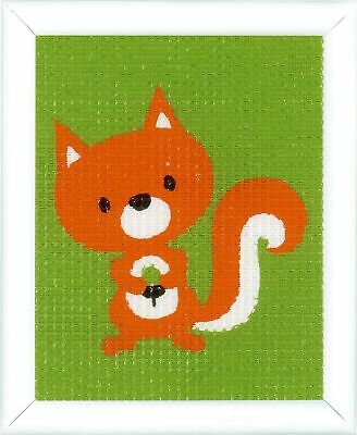 Vervaco Tapestry Kit: Little Squirrel, NA, 12.5 x 16cm