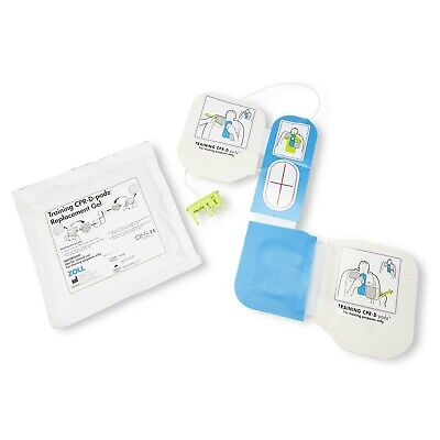 Zoll Aed Plus Trainer 2 Training Cpr-D Padz with Reusable Puck And Replaceabl...
