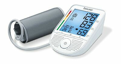 Beurer BM-49–Arm Blood Pressure Monitor with Voice, White