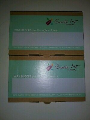 Encaustic Metallic Paint Set Wax Paint made of Mica Pigments beeswax and damar
