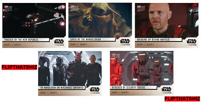 Star Wars: The Mandalorian TOPPS NOW 5-Card Pack - S1 : Chapter 6