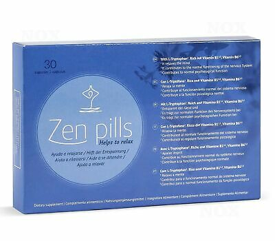 Zen Pills - Relaxing Capsules to Control Anxiety