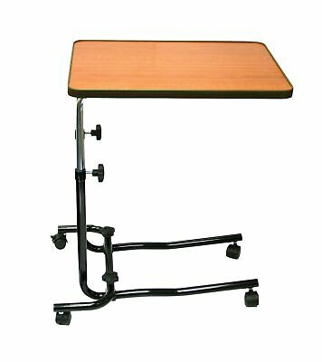 Days Overbed Table, Portable Desk with Castor Wheels for a Convenient Writing...