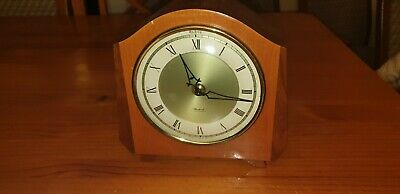 Art Deco Andrew Reuge Musical Chiming Mantle Clock Very Good Working Order