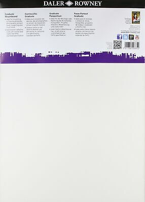 Daler Rowney Black A3 Graduate Mountboard (Pack of 8)
