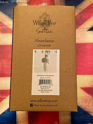 Willow Tree-Susan Lordi 'Abundance' So Much Love! Ornament #27575 - NEW BOXED