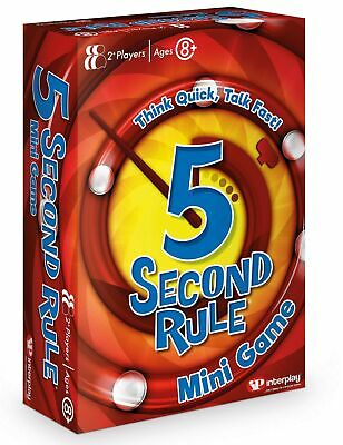 5 Second Rule GF003 Mini, Travel Card Game