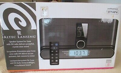 ALTEC LANSING InMotion IM414 Portable Audio System for Zune - BRAND NEW!