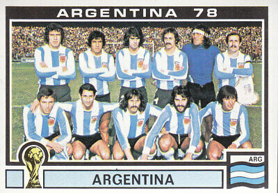 Panini - World Cup Story - Argentina 1978 - National Team Photo - Argentina  101