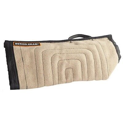 Dingo Gear Soft Jute Cover for Bite Protection Sleeves Handmade with a Handle...