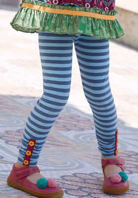 Matilda Jane Girls Moments with You Sightseeing Leggings Striped 2 4 6 8 10 12
